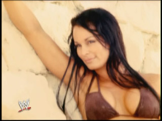 wwe Former Diva Ivory wallpaper containing a portrait, attractiveness, and skin called Ivory Poisoner
