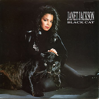 JANET JACKSON BLACK CAT - black-cats Photo