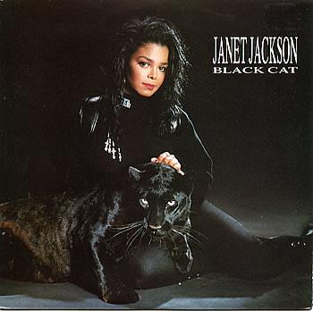 JANET JACKSON BLACK CAT
