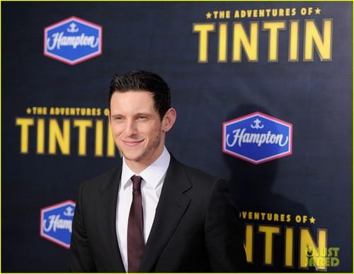 Jamie Bell: 'Tintin' New York Premiere!