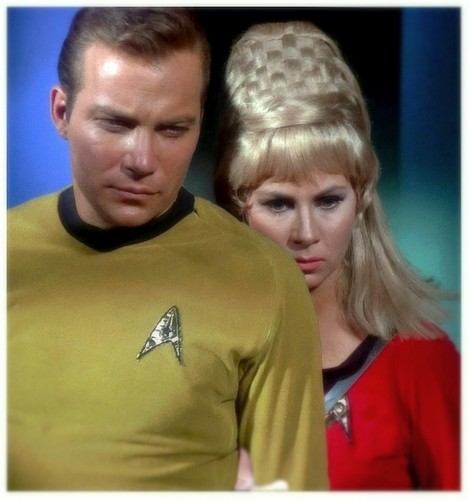 Janice Rand wallpaper containing a jersey and a portrait entitled Janice Rand