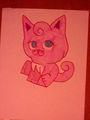 Jigglypuff cat - jigglypuff photo