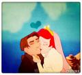 Jim ❤ Ariel