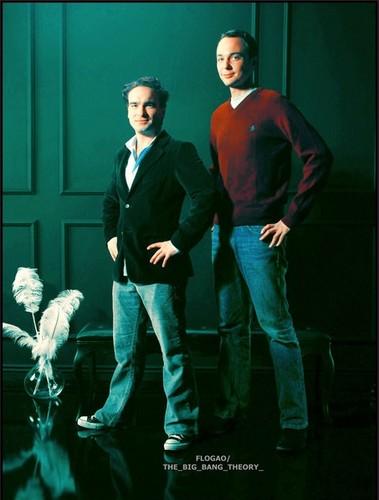 Jim Parsons and Johnny Galecki