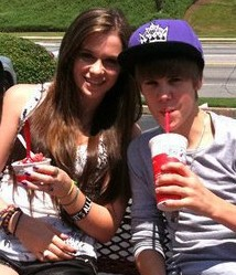Justin and Caitlin<333