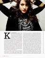 Kat in Bust Magazine - December 2011 - kat-dennings photo