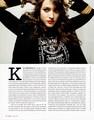 Kat in Bust Magazine - December 2011