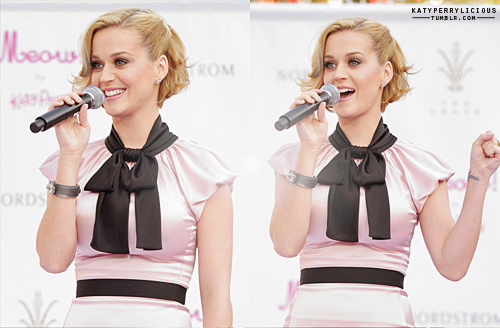 Katy Perry @ the 'Meow' fragance launch in LA
