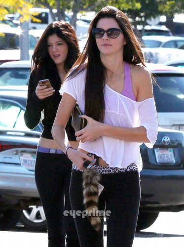 Kendall &amp; Kylie spotted out shopping in Beverly Hills, Dec 10 - kendall-jenner Photo