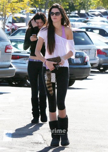 Kendall & Kylie spotted out shopping in Beverly Hills, Dec 10