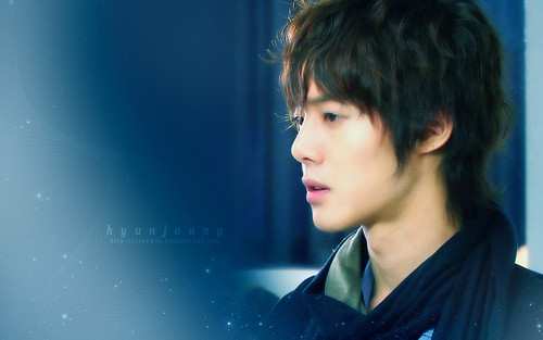Kim Hyun Joong wallpaper probably with a portrait titled Kim Hyun Joong