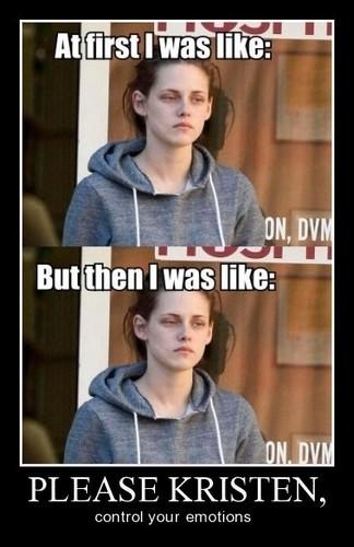 Kristen Stewart's Emotions