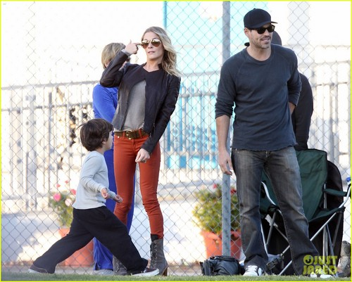 LeAnn Rimes & Eddie Cibrian: Family Time with Brandi Glanville!