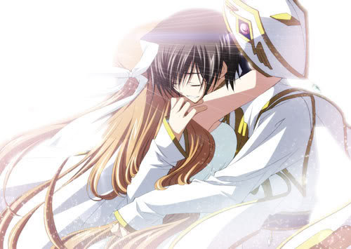 Code Geass karatasi la kupamba ukuta called Lelouch and Shirley