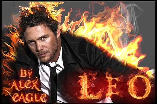 Leo In 불, 화재 또는 Evil Leo :DBy Alex Eagle