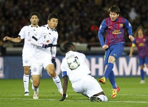 Lionel Messi - FC Barcelona (4) v Al-Sadd Sports Club (0) - FIFA Club World Cup [Semi Final]