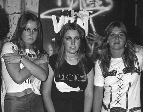 Lita, Sandy and Vicki in 1978