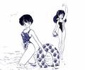 Lum & Akane (manga crossover)