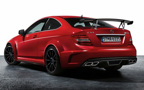 MERCEDES - BENZ C63 AMG coupe, cupé