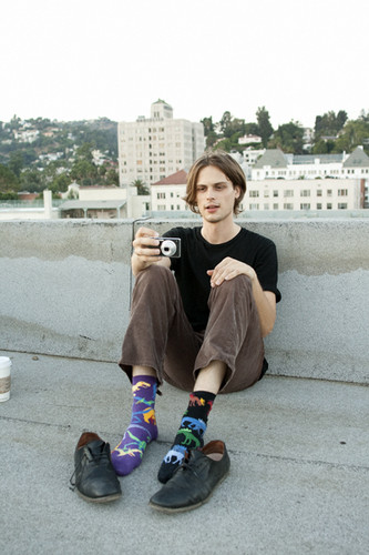 MGG & his socks