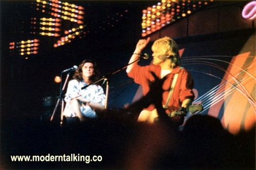 modern talking wallpaper containing a konser titled MODERN TALKING