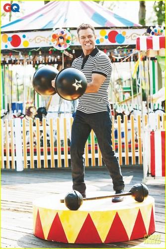 Matt Damon Covers 'GQ' January 2012