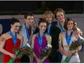 Medal ceremony - tessa-virtue-and-scott-moir screencap