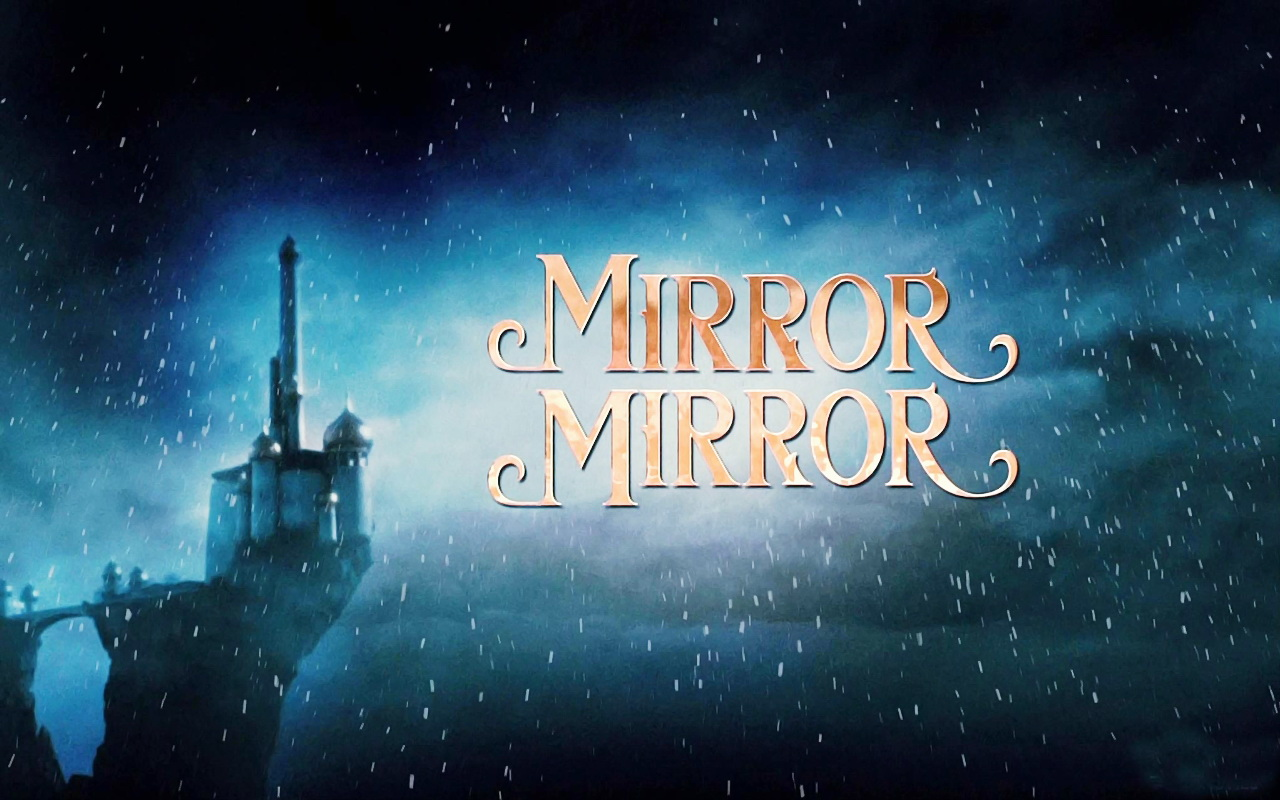 Mirror mirror wallpaper the brothers grimm snow white for Mirror wallpaper