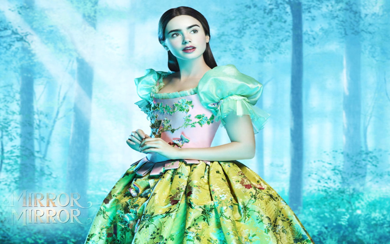 Mirror Mirror Wallpaper The Brothers Grimm Snow White 2012 Wallpaper 27606473 Fanpop