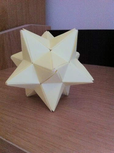 Origami Stellated Dodecahedron