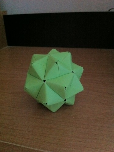 Sonobe Stellated Icosahedron