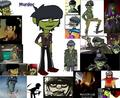 Murdoc is God - gorillaz fan art