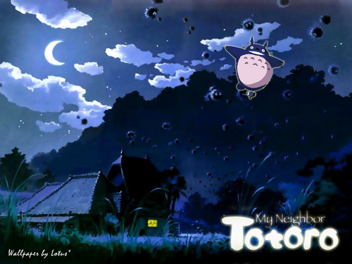 My Neighbor Totoro fondo de pantalla titled My Neighbor Totoro