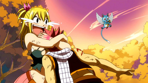 My favorite scene in episode 109; Happy want this~ XD ♥