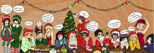 Naruto Christmas Party