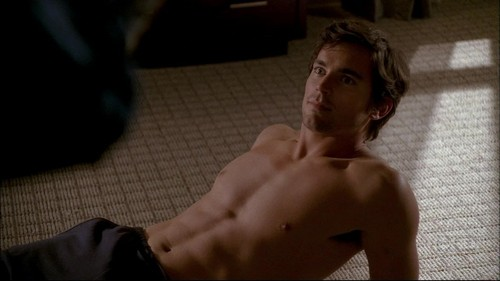 Neal Caffrey wallpaper containing a hunk and skin called Neal Caffrey