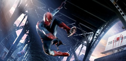 New 'Amazing Spider-Man' promotional gambar