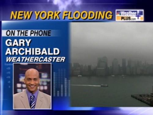 New York Flooding Coverage - (2008)