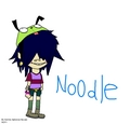 Noodle in a GIR hat (epic) - gorillaz fan art