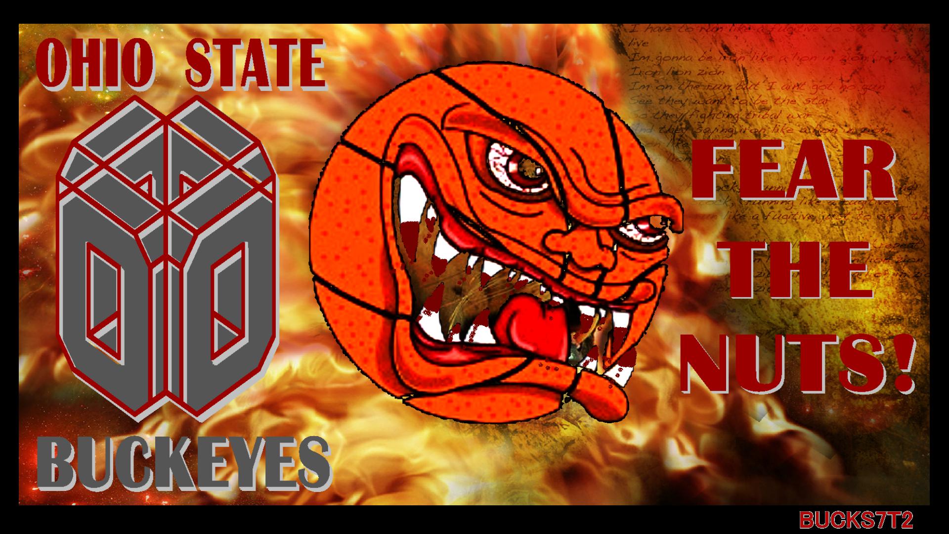 OSU BUCKEYES FEAR THE NUTS!