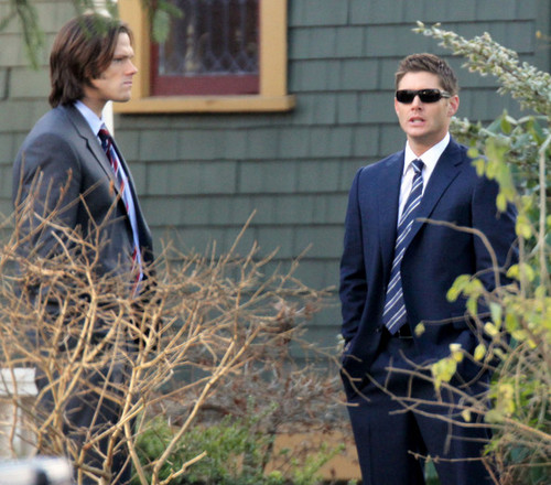 On The Set Of 'Supernatural' In Vancouver