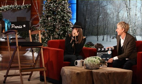 Paris Jackson's Interview With Ellen on Ellen tunjuk December 13th 2011 (HQ Without Tag) SURPRISE!!