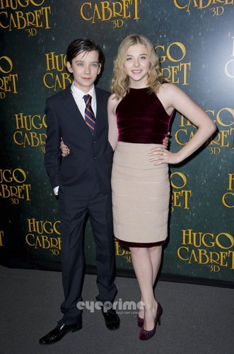 Paris Premiere of 'Hugo'