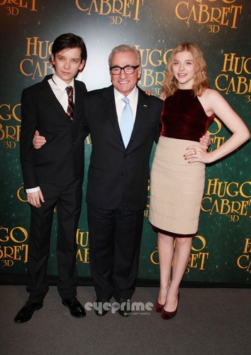 Paris Premiere of 'Hugo'