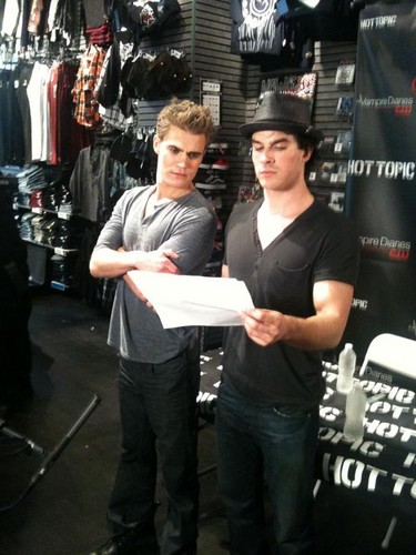 Paul Wesley and...