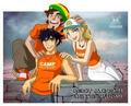 Percy, Grover, and Annabeth