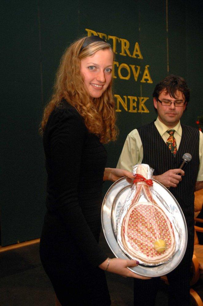 Petra Kvitova in home....