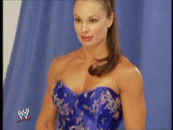 Wwe Former Diva Ivory achtergrond probably with a bustier called Poison Ivory