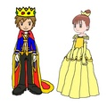 Prince Takato and Princess Jeri - digimon fan art