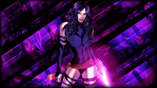 Psylocke Wallpaper Containing A Concert Called